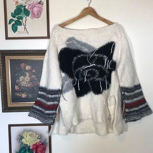 Free People Last Rose Sweater Oversized